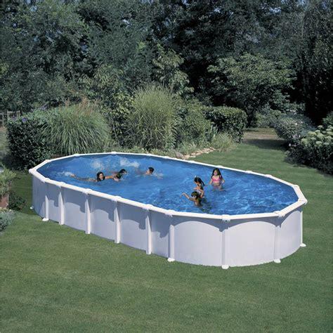 piscine hors sol 4x8 piscine hors sol acier san clara l 6 4 x l 4 05 x h 1 32