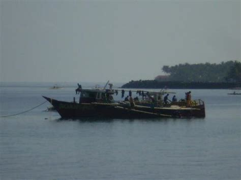 The Fishing Boat Club Reviews by Fishing Boat Next To Hotel Picture Of Camiguin Island