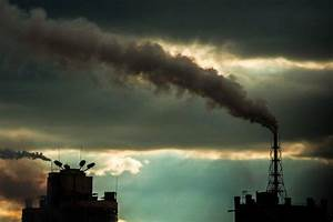 Smoke, Pollution, Cityscape, Clouds, Dusk, Wallpapers, Hd