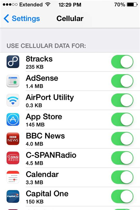 cellular data iphone how to reduce the data usage on your iphone tips and tricks