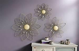 Decoration Murale Fleur : deco murale metal fleur ~ Teatrodelosmanantiales.com Idées de Décoration