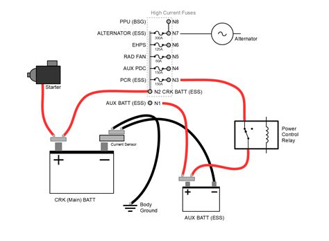 Jeep Battery Wiring Diagram by 3 6l Ess Dual Battery Diagram 2018 Jeep Wrangler Jl