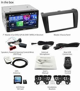 Mazda 3 Bk Car Dvd Gps Mp3 Player Stereo Radio Head Unit