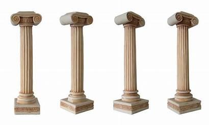 Pillar Column Columns Ancient Greece Greek Clipart