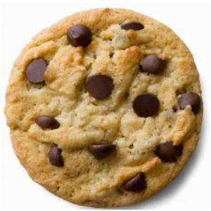 Giant clipart chocolate chip cookie - Pencil and in color ...