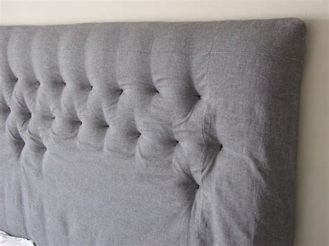 Easiest Way To Recover A Buttoned Headboard