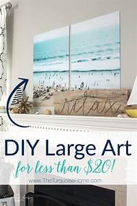 Color engineer prints diy large art on a budget