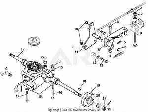 Gravely 590001 850  851 Eaton Hydro Transaxle Service Kit Parts Diagram For Service Kit