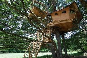 Cabane Dans Les Arbres Construction : construction cabane a vivre ~ Mglfilm.com Idées de Décoration