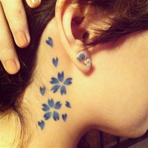 cute cherry blossom tattoo design ideas hative