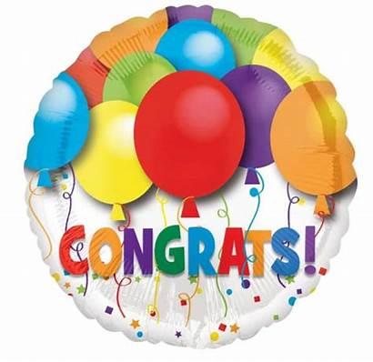 Balloons Congratulations Balloon Congrats Bouquet Congratulation Bold