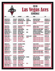 Free Ticket Templates Printable Printable2018 Las Vegas Aces Basketball Schedule