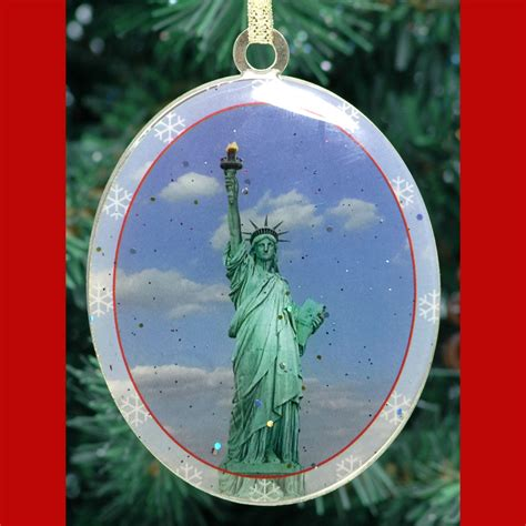 christmas decorations statue of liberty statue of liberty ornament ny gifts