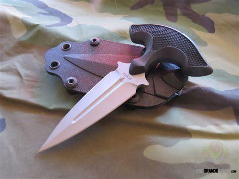 schrade schf full tang push dagger knife