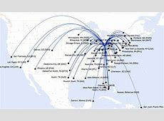 Where United Airlines flies nonstop from Cleveland; how