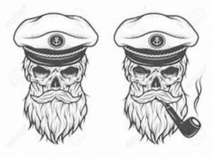 nautical-bearded-skull-jasmine-mills jpg (695×900