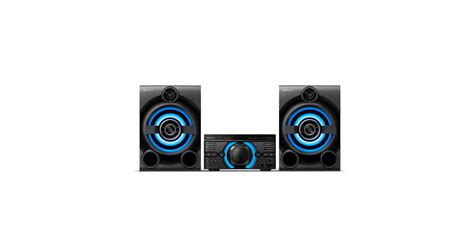 MHC-M60D Specifications | All-in-one Hi-Fi Systems | Sony ...