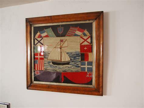 cloverleaf home interiors antiques atlas woolwork sler sailor c1865
