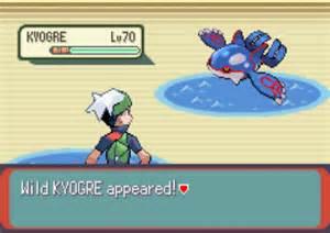 Catch Kyogre in Pokemon Emerald