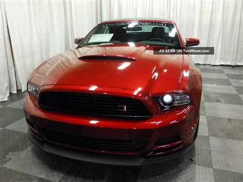 ford mustang  roush rs convertible