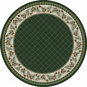 Evergreen Rug 8 Ft Round