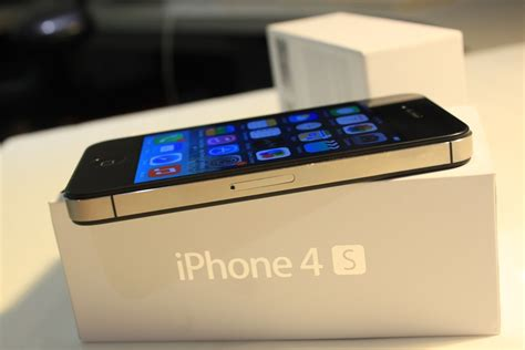 used iphones for apple iphone 4s 16gb used black at t technak