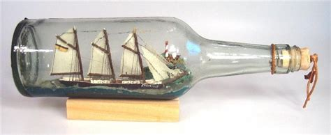 Boat Stuck In A Bottle by Your Ship Of