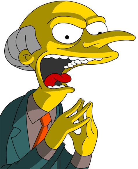 image mr burns evil gif simpsons wiki fandom powered