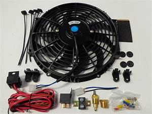 12 U0026quot  Electric Fan 1750 Cfm   Wiring Install Kit Complete