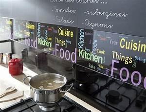 Crédence Adhésive Cuisine : credence adhesive pas cher ~ Melissatoandfro.com Idées de Décoration
