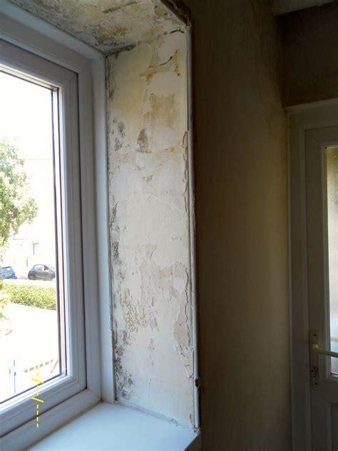 plaster  window revealre skimming plaster