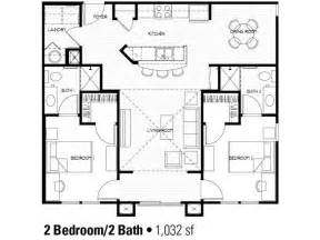 2 bed 2 bath floor plans best 25 2 bedroom house plans ideas that you will like on