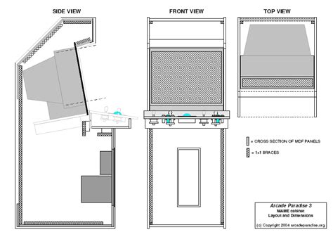 Arcade Cabinet Plans by Woodworking Chair My Part 5