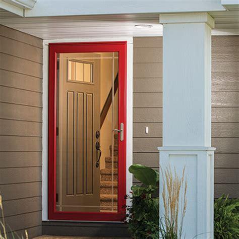 replacement glass storm doors pella retail