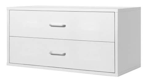 Foremost Closet Systems Modular Large 2 Drawer Cube