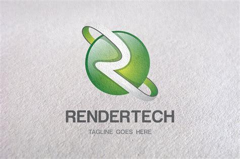 R Letter, R Logo, 3d Logo Templates