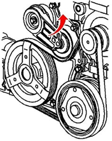 Serpentine Belt Diagram For Sunfire Engine With