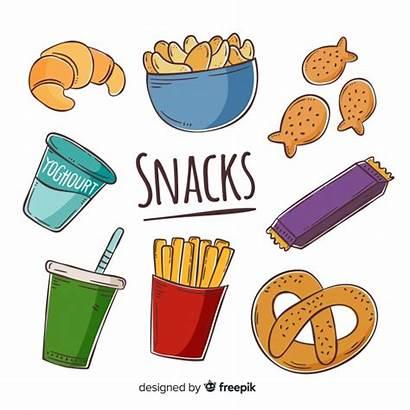 Snacks Snack Clipart Vector Poster Vectors Freepik