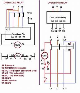 Contactor Relay Coil Wiring Diagram