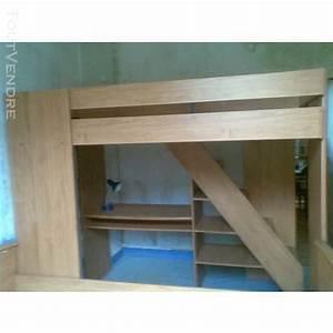 Lit mezzanine conforama Clasf