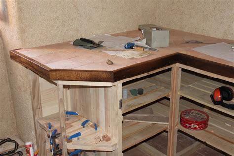 fabriquer meuble cuisine fabriquer une cuisine en bois ilot de cuisine bois