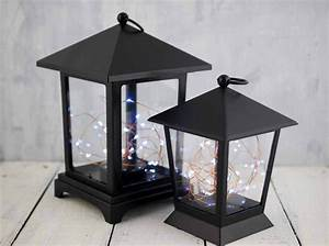 Everlasting, Glow, Lantern, With, Led, Fairy, Lights, 9in