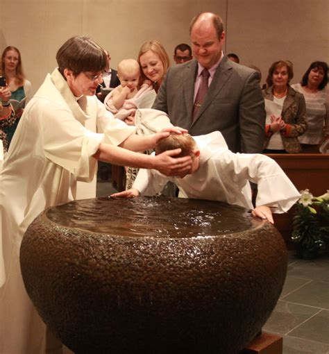 baptism the king evangelical lutheran church houston texas