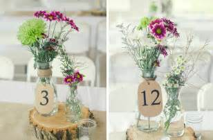 vase mariage rustic wedding tent wedding venue wildflower centerpieces onewed
