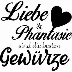 Was Sind Die Besten Bratpfannen : sticker liebe phantaisie sind die besten gew rze stickers citations allemand ambiance sticker ~ Markanthonyermac.com Haus und Dekorationen
