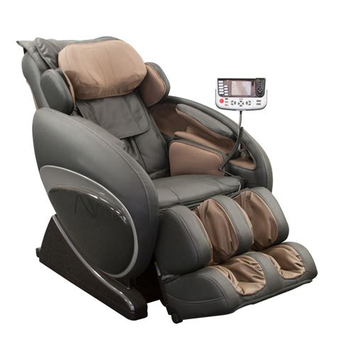 s track zero gravity recliner chair gray shiatsu