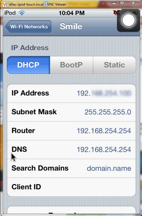 how to find ip address on iphone how to find the ip address of ipod touch iphone