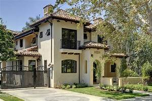 Spanish Style Outdoor Entry - Home Design Inside