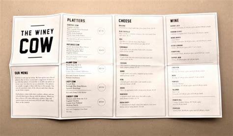 restaurant menu design 45 inspiring exles of restaurant menu designs jayce