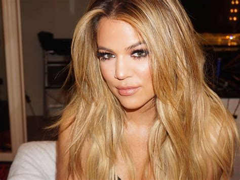 isnt easy   hair  khloe kardashian